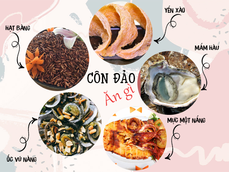 Những món ăn đặc sản Côn Đảo