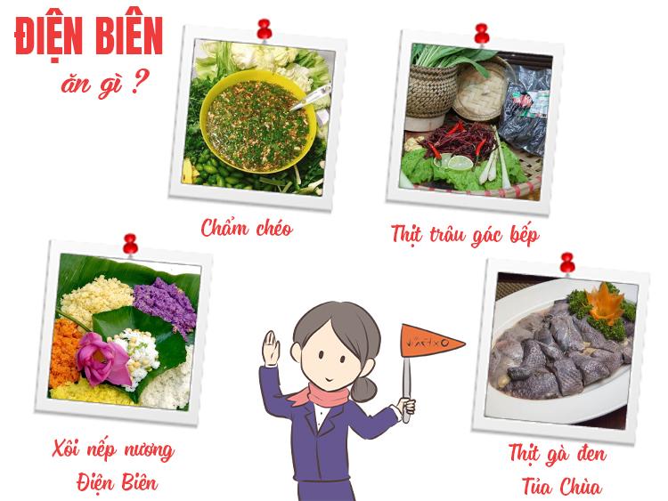 Những món ăn đặc sản Điện Biên