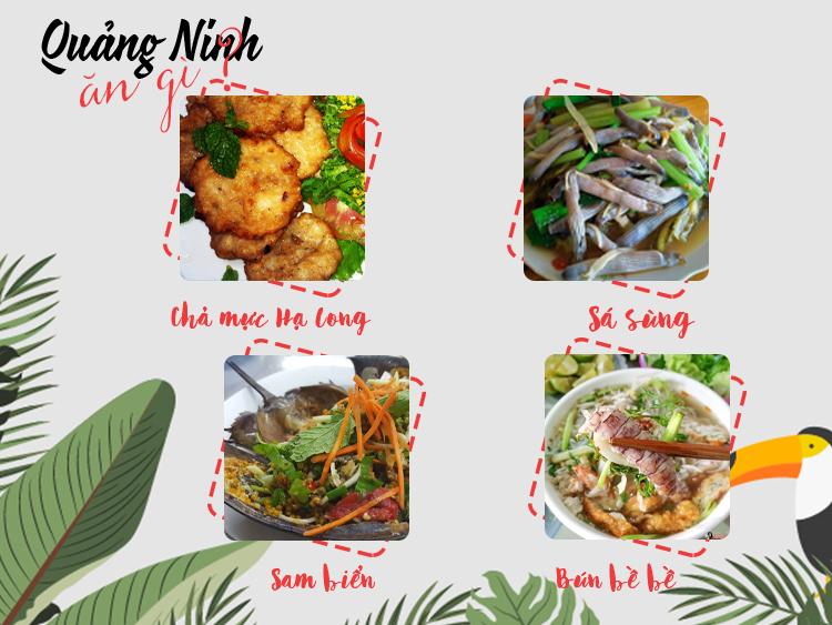 Những món ăn nổi tiếng tại Quảng Ninh