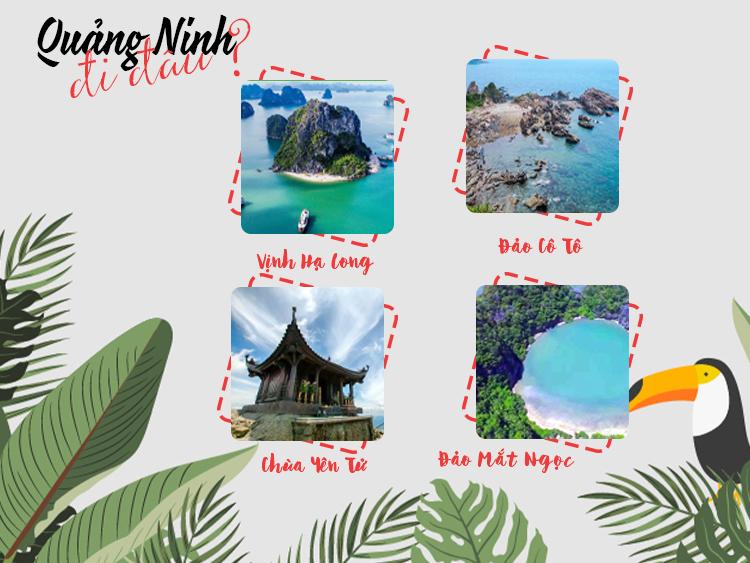 Những địa điểm du lịch nổi tiếng Quảng Ninh