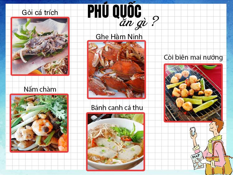 Những món ăn đặc sản tại Phú Quốc