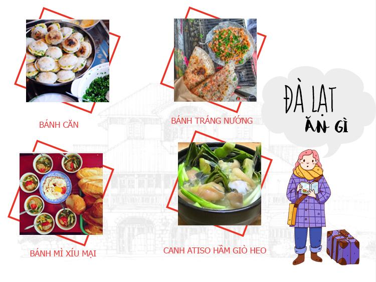 Những món ăn nổi tiếng tại Đà Lạt