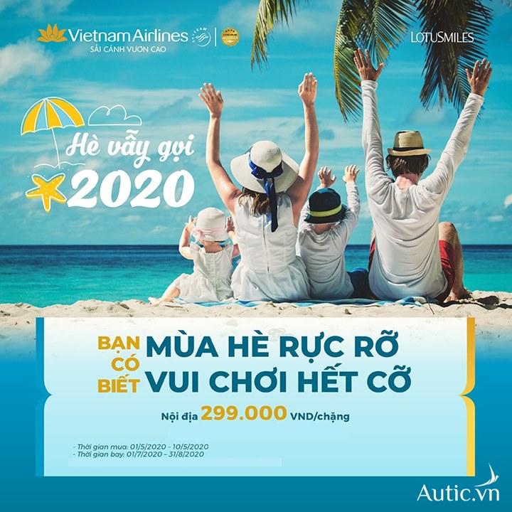 Chương trình khuyến mãi hè của Vietnam Airlines