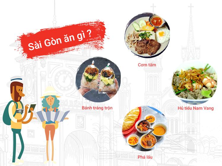 Những món ăn nổi tiếng tại Sài Gòn